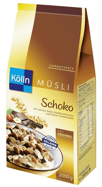 [Amazon] 2Kg Kölln Schoko Müsli (und andere Sorten)