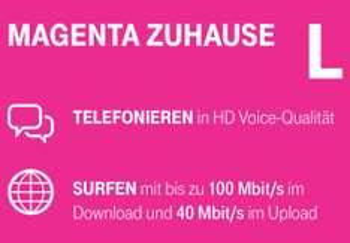 [Obocom] Telekom Magenta Zuhause L: VDSL 100Mbit/s. Für Wechsler 21,20€ / Monat