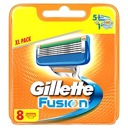 [Amazon SparAbo] Gillette Fusion Rasierklingen  8 Stück 15,99€(5%) bzw 13,99€(15%)