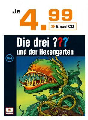 [Saturn] Die drei ??? / Die drei ??? Kids / Die drei !!!  - je CD 4,99€ + Button-Set