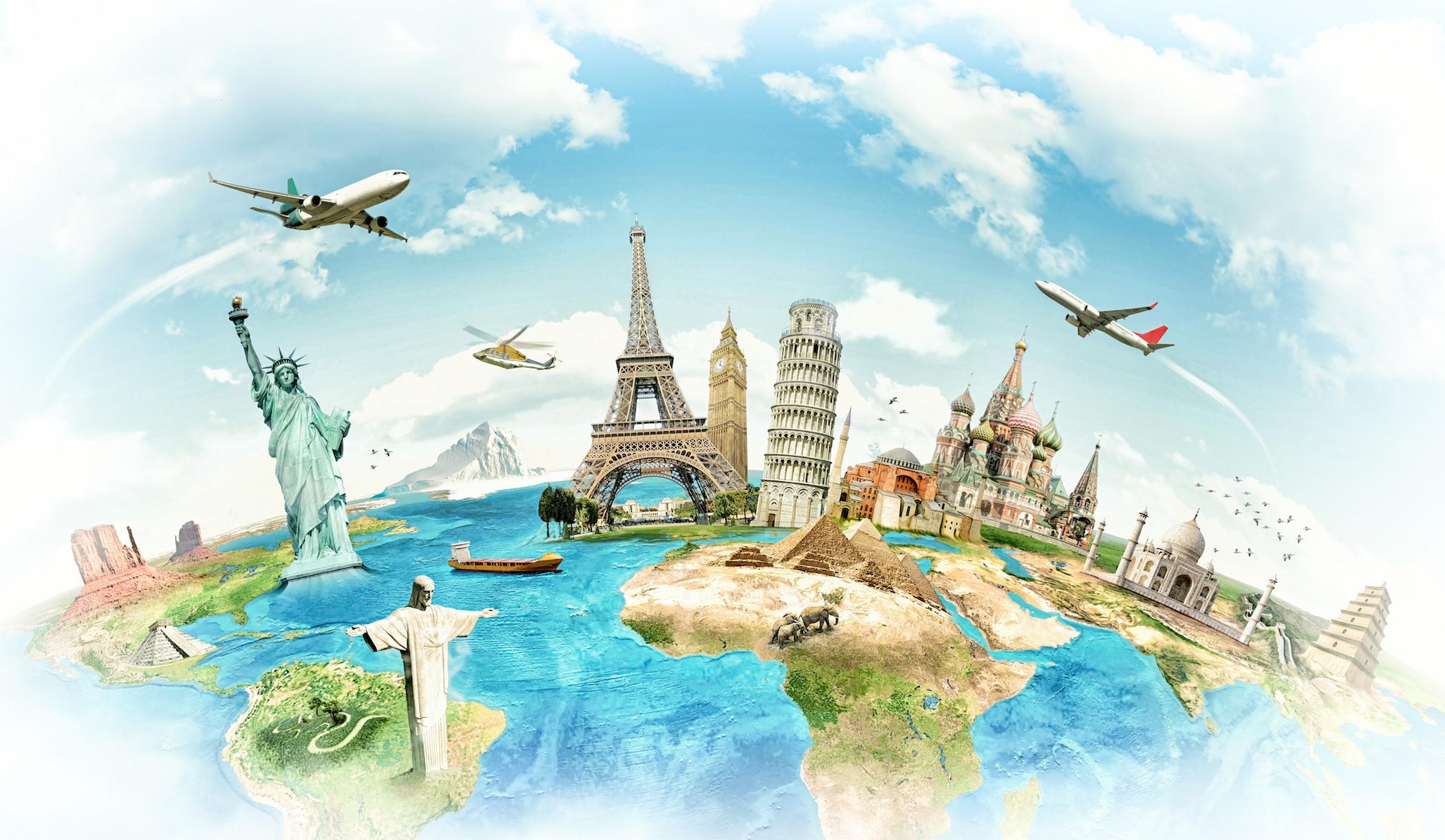 Flug RTW: In 30 Tagen 1x um die ganze Welt ab 972€