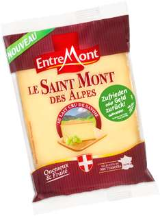 Entremont LE SAINT MONT DES ALPES Käse [GzG / Gratis testen]