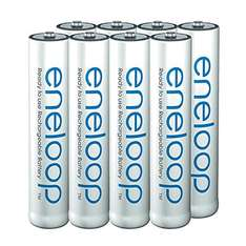 UPDATE Eneloop Micro AAA Akkus bei Amazon sehr günstig schießen: 2x 4,08€, 4x 6,60€, 8x 11,64€