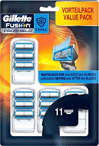 Gillette ProShield Chill Rasierklingen, 11 Stück - Amazon Prime