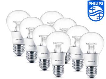 8er-Pack Philips Warmglow E27er LEDs für 30,90€
