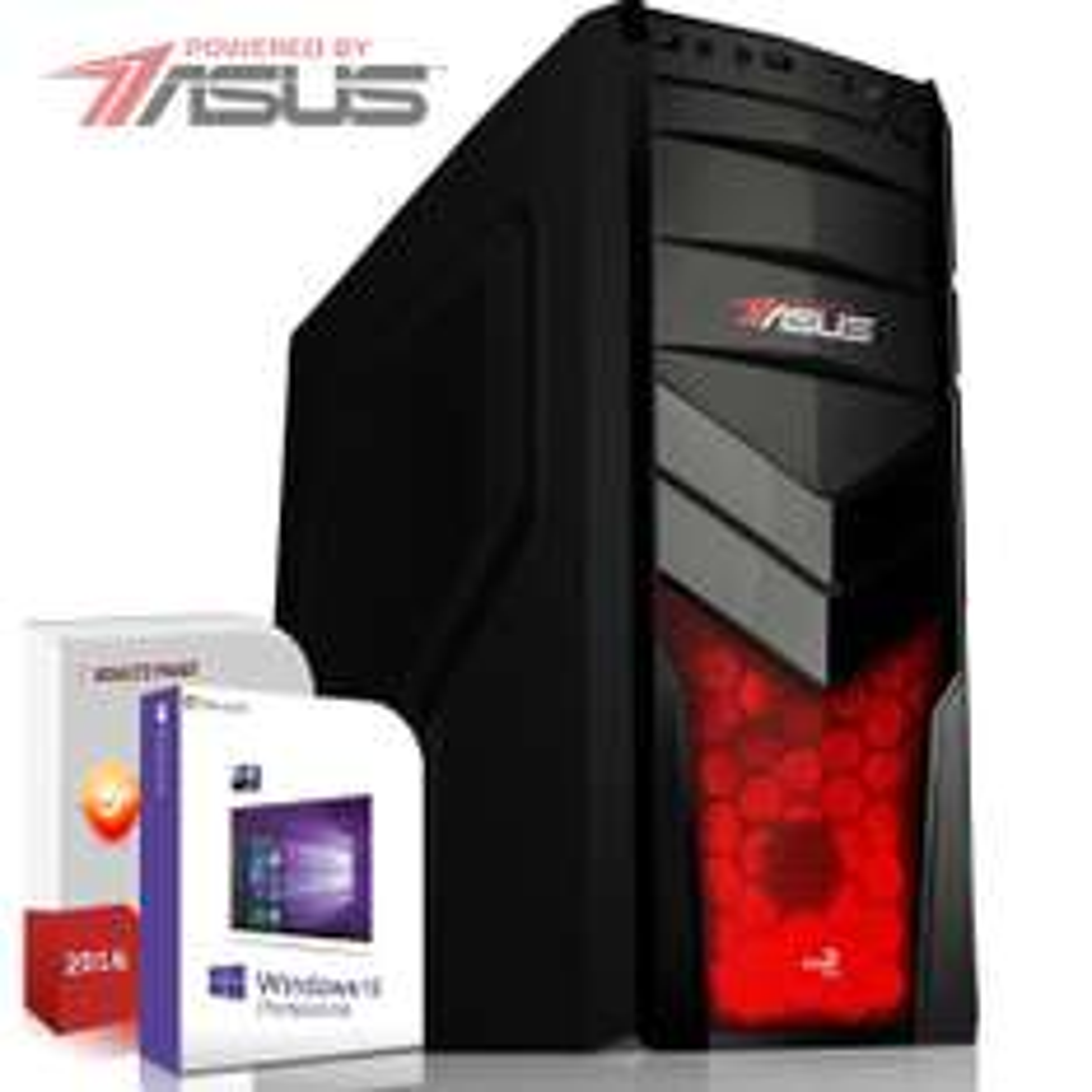 [Fertig-PC]: AMD A10-7850K, 16GB DDR 3 Ram (1600 MHZ), 120GB SSD, ASUS Mainboard mit HDMI (PCI-Express 3.0), 500GB HDD, Radeon R7000 (4096MB), 420 Watt Netzteil, DVD Brenner, Windows 10 für 349,90€ @ebay.de (Systemtreff)