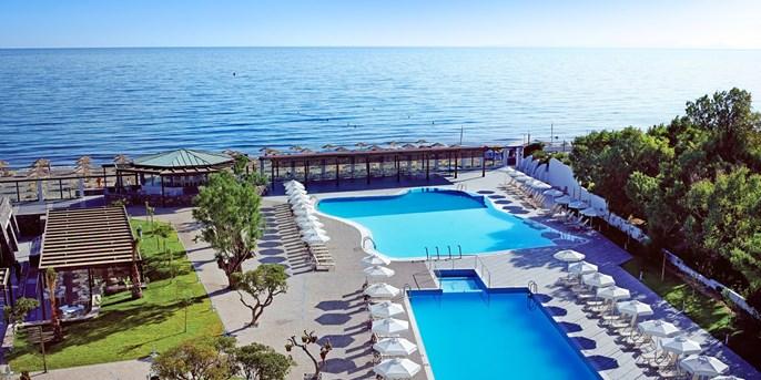 (Ltur.com / Travelzoo) 2 Personen - 7 Tage auf Kreta, All Inklusive im 4* Hotel (89% HolidayCheck), Zug zum Flug, Transfer, Gutschein für Waterpark, (455€ / Person oder 399 Fr ab Zürich) // viele Termine und Abflughäfen
