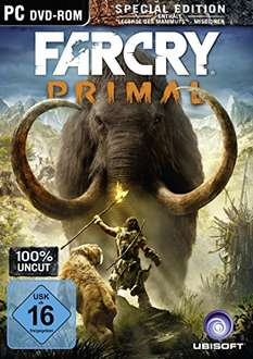 [Amazon Prime] Far Cry Primal [100% Uncut + Special Edition] auf CD für 15,30€