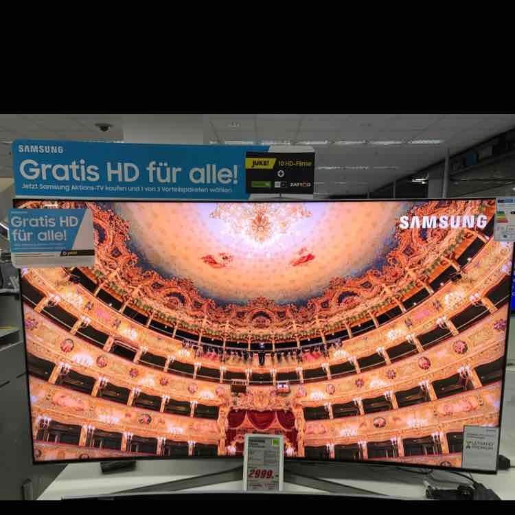 Samsung 65KS9590 UHD , Smart TV , Fernseher (LOKAL: Media Markt Köln City am Dom)