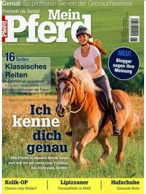 """Ein Jahr lang """"Mein Pferd"""" (12 Ausgaben) schmökern für 12,95€ statt 32€ @Mein Pferd direkt"""