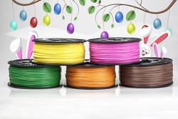 ABS/PLA Filament, 5KG, 5 Farben