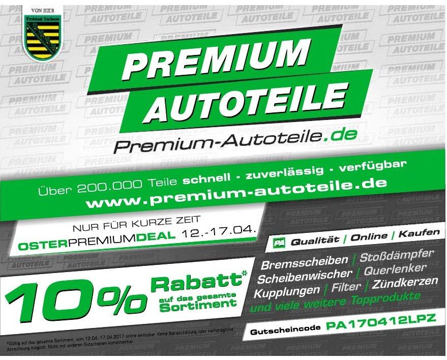 10% Gutschein für Autoersatzteile bei Premium-Autoteile