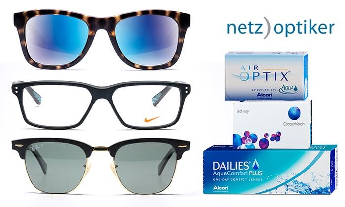 Diverse Brillen ab 50,99 Euro mit Groupon-Gutschein für Netzoptiker