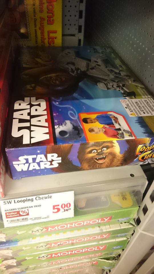 Star Wars Looping Chewie