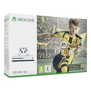 MICROSOFT Xbox One S 500GB Konsole + FIFA 17