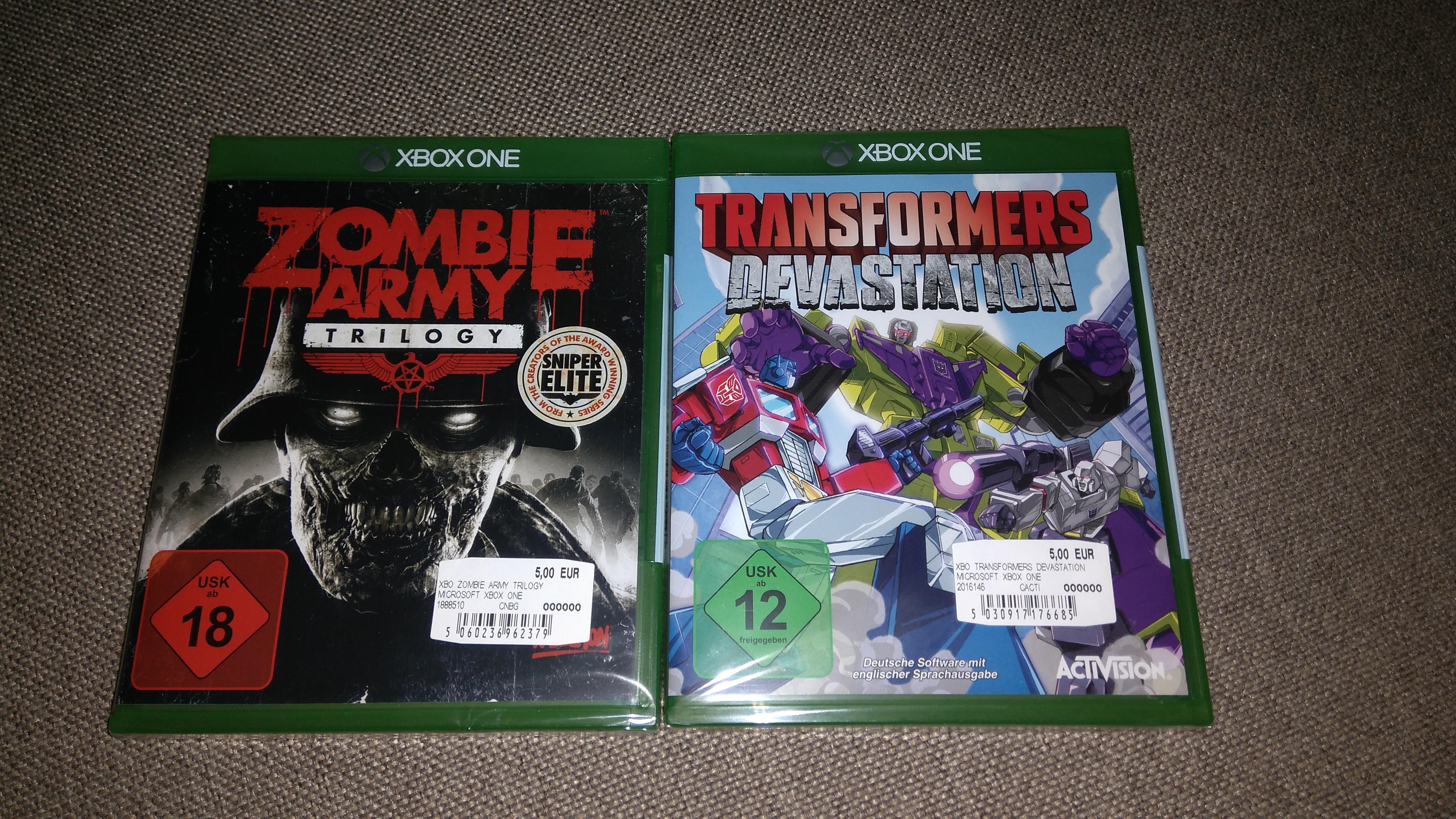 Mediamarkt HH-Harburg Xbox One Spiele