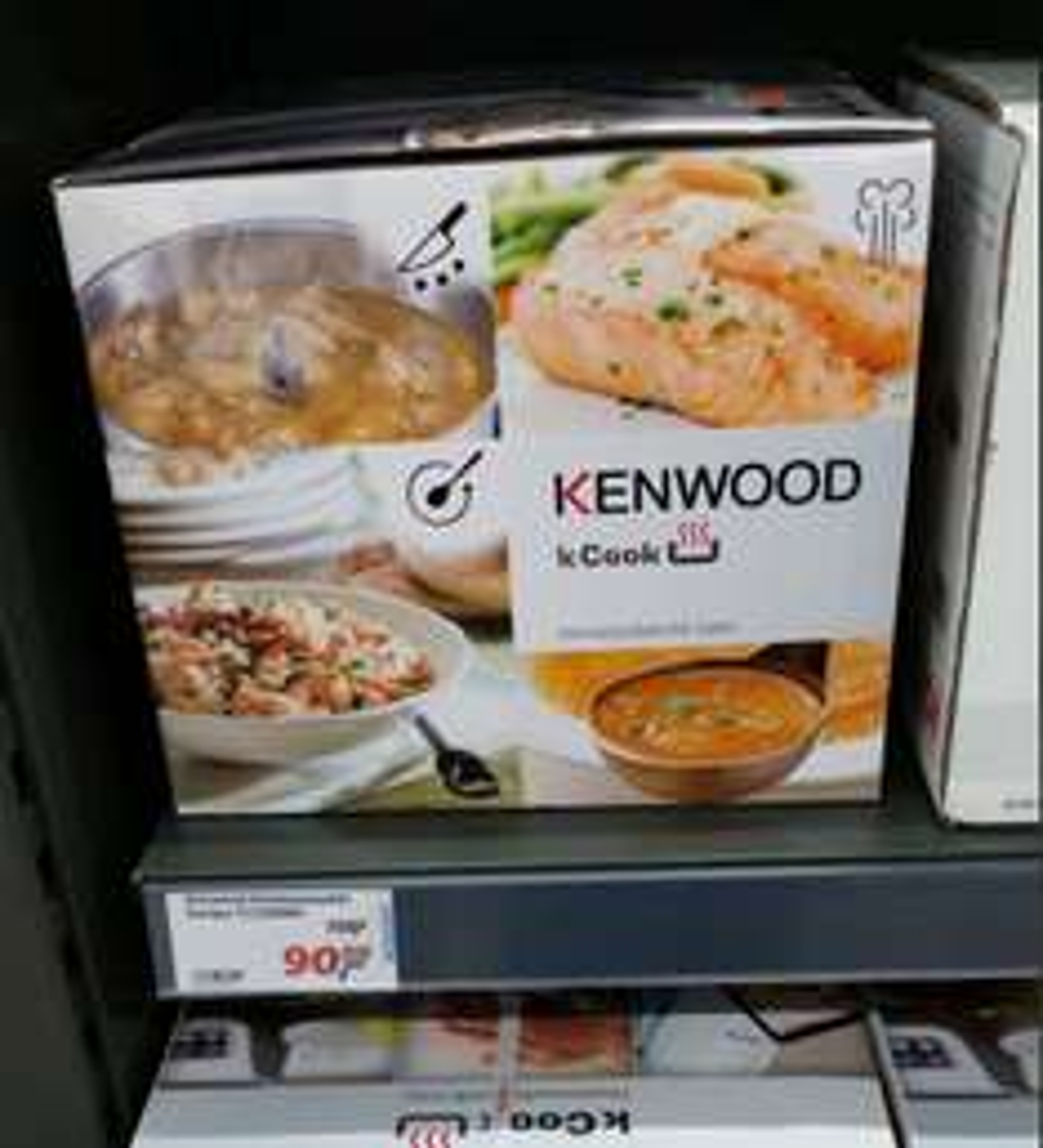 Lokal Real Nürnberg Kenwood CCC200WH kCook für EUR 90,00 = 44% unter Idealo