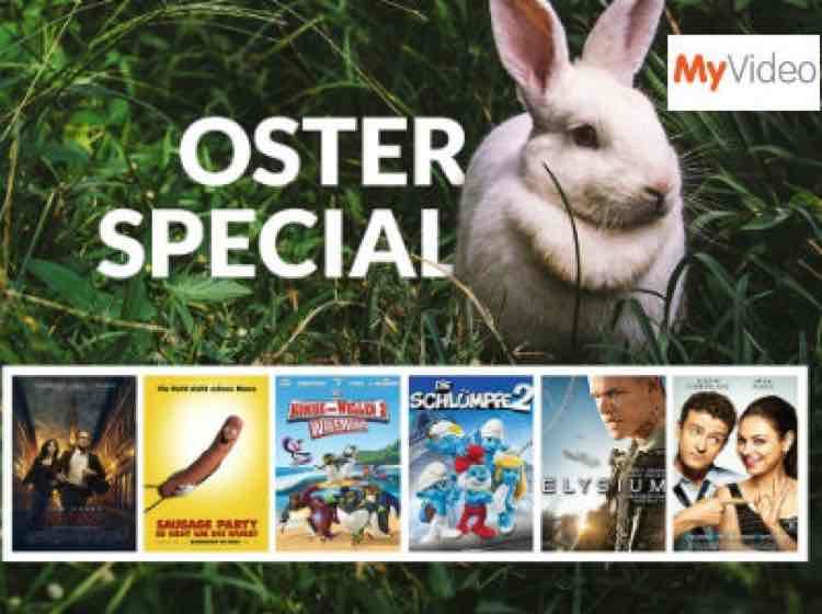 MyVideo - Filme für 0,99€ leihen