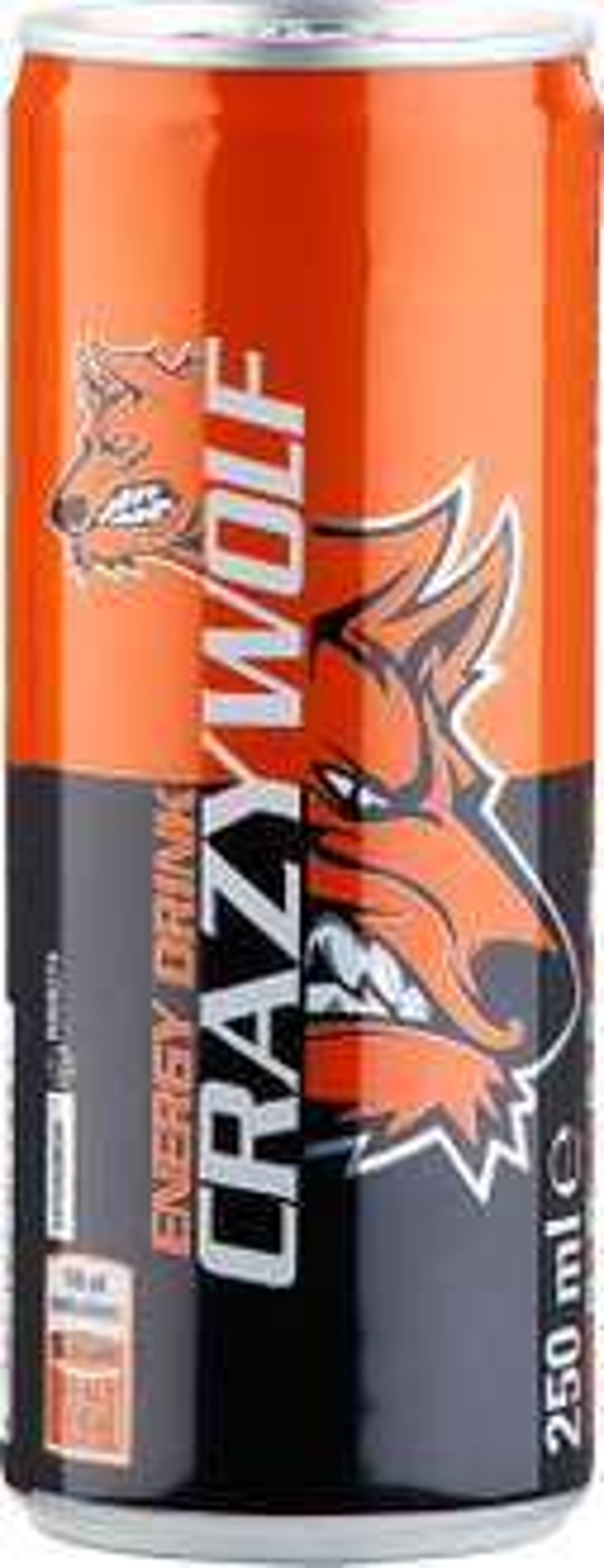 [Kaufland] Crazy Wolf 0,25L Energy Drink  Dose