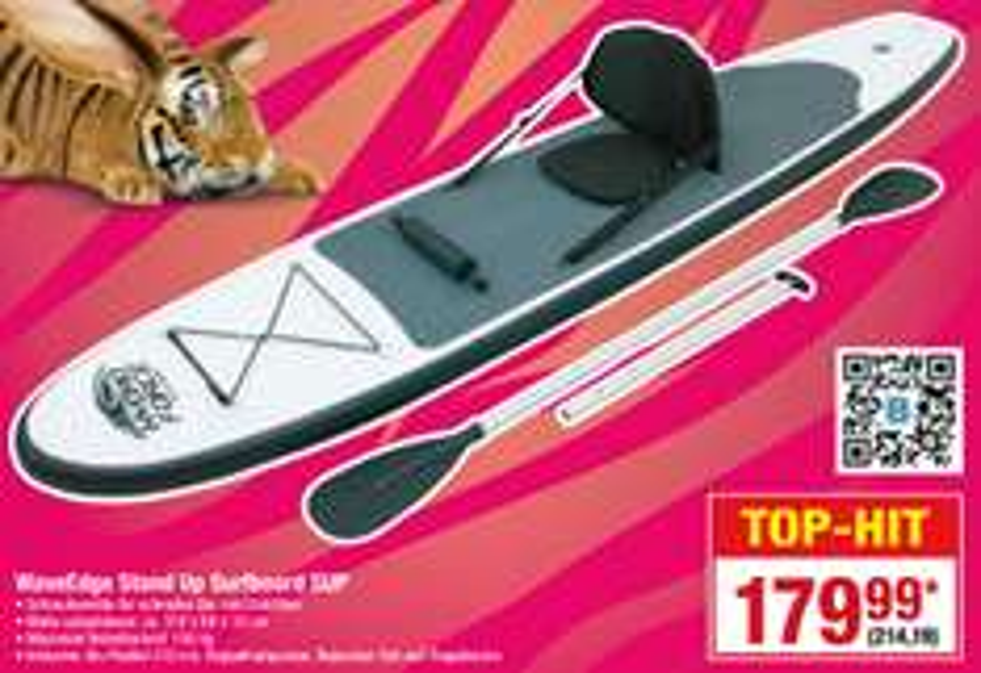 [Metro] Bestway WaveEdge Stand Up Surfboard SUP, Vgp: 294,80€