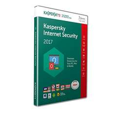 Kaspersky Internet Security 2017 - 3 Devices, 1 Year (PC/Mac/Android)