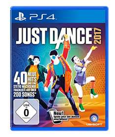 [Amazon Prime] Just Dance 2017 - (PlayStation 4/Nintendo Wii U)