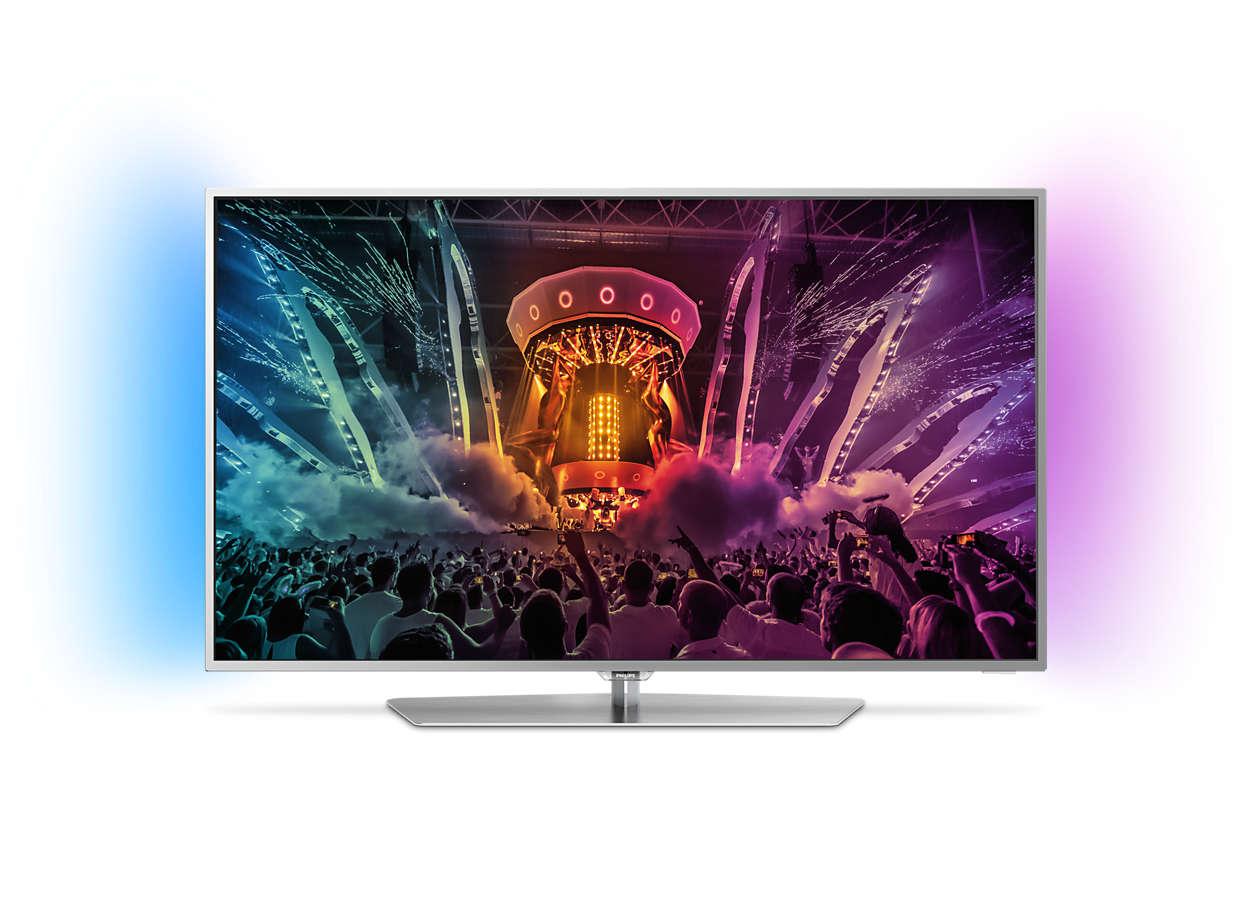 [LOKAL DÜREN] Philips TV 43PUS6551 für 555€ (4K, HDR, Android, Ambilight, 100Hz)