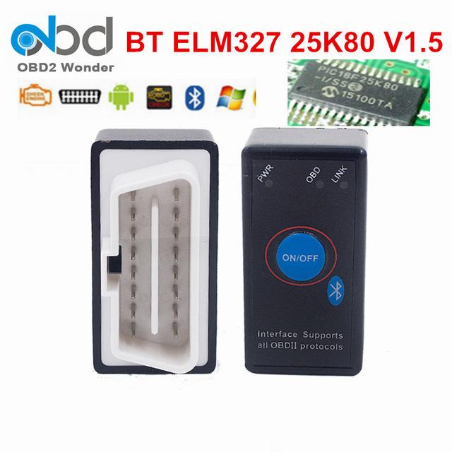 OBD II Diagnose ELM327 V1.5 ELM327 Bluetooth für Android und PC