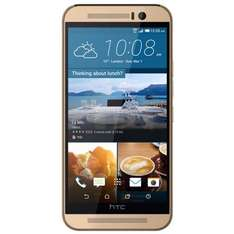 HTC One M9 Premium Gold Smartphone, Android, 16 GB, 5 Zoll für 235,99€ [Redcoon]
