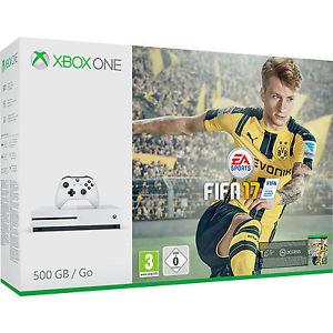 MICROSOFT Xbox One S 500GB Konsole - FIFA 17 / Forza Horizon 3 Bundle bei Amazon und Saturn