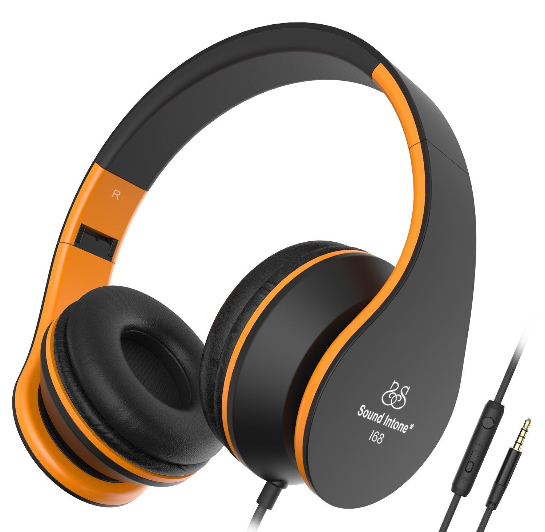 Sound Intone I68 faltbarer On-Ear Kopfhörer Headset für 10,99€