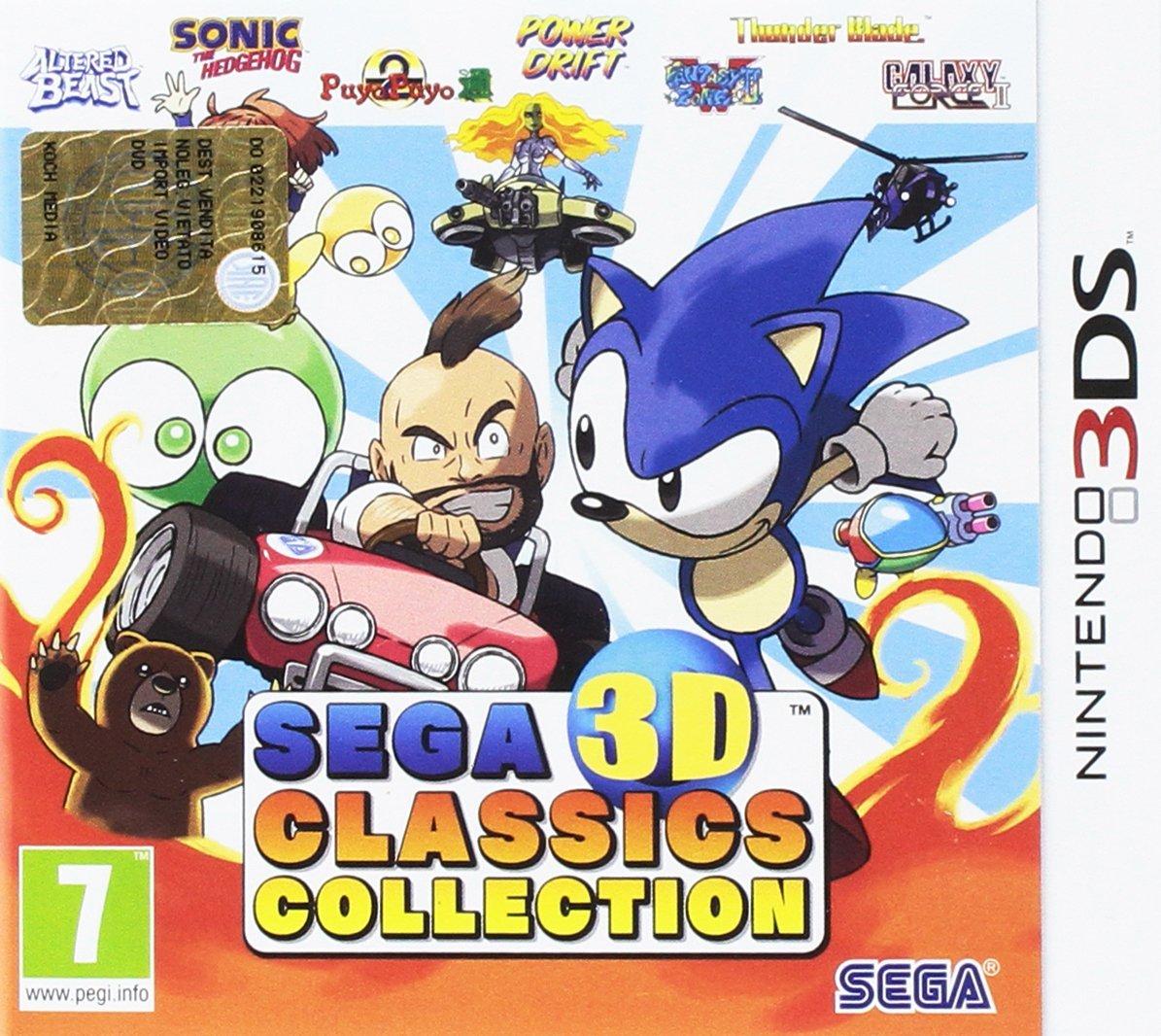 Sega 3D Classic Collection (3DS) für 21,44€ inkl. VSK (Base.com)
