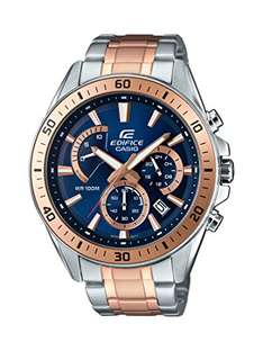 Casio Edifice Herren-Armbanduhr EFR-552SG-2AVUEF für 54,08€ Amazon.it oder 63,55€ Amazon.de