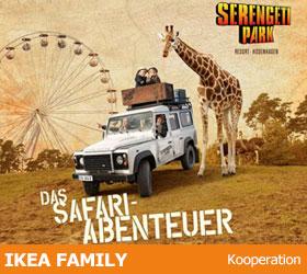 Serengeti-Park Hodenhagen - 1x zahlen 2x Abenteuer - IKEA FAMILY