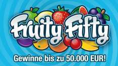 50 Rubbellose Fruity Fifty mit 8 € Ersparnis