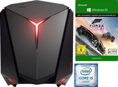 """Lenovo ideacentre Y710 Cube-15ISH Gaming-PC (Intel i5-6400, 12GB RAM, 256GB SSD + 1TB HDD, Geforce 1060 mit 6GB, Wlan ac + BT 4.0, 450W, Win 10) + Key """"Forza Horizon 3"""" für 799€ [Otto]"""