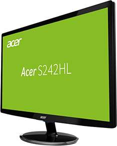 Amazon Angebot: Acer S242HLDBID 24 Zoll Monitor 1920x1080, VGA, HDMI, 1ms Reaktionszeit