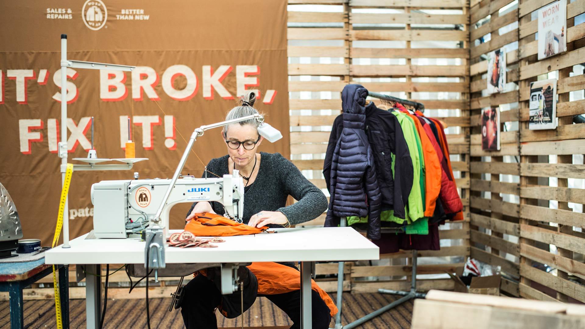 Kostenlose Outdoorkleidungsreperatur in diversen europaeischen Stadten