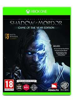 Mittelerde: Mordors Schatten Game of the Year Edition (Xbox One) für 16,36€ inkl. VSK (Base.com)