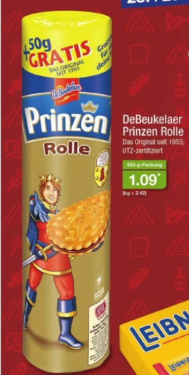 [Aldi Nord am 28.04 - 29.04] De Beukelaer Prinzenrolle 450 Gramm Packung für 1,09€