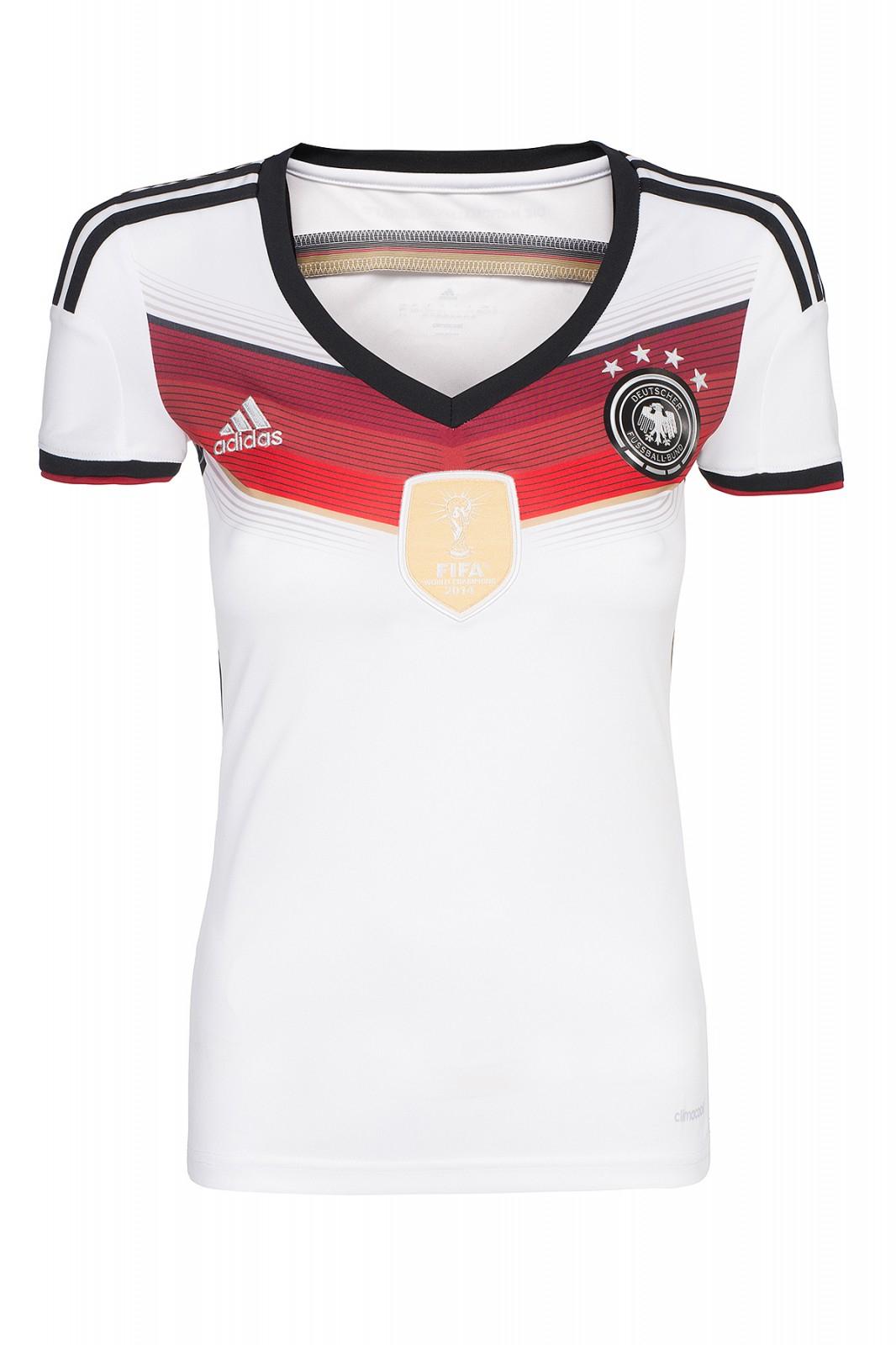 adidas DFB Heimtrikot Damen Trikot Weiß 2014 Größe XXS 9,99€