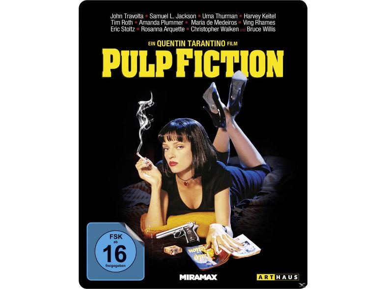 Pulp Fiction - Steelbook Collection (Blu-Ray) für 10,93€ inkl. VSK (Alphamovies)