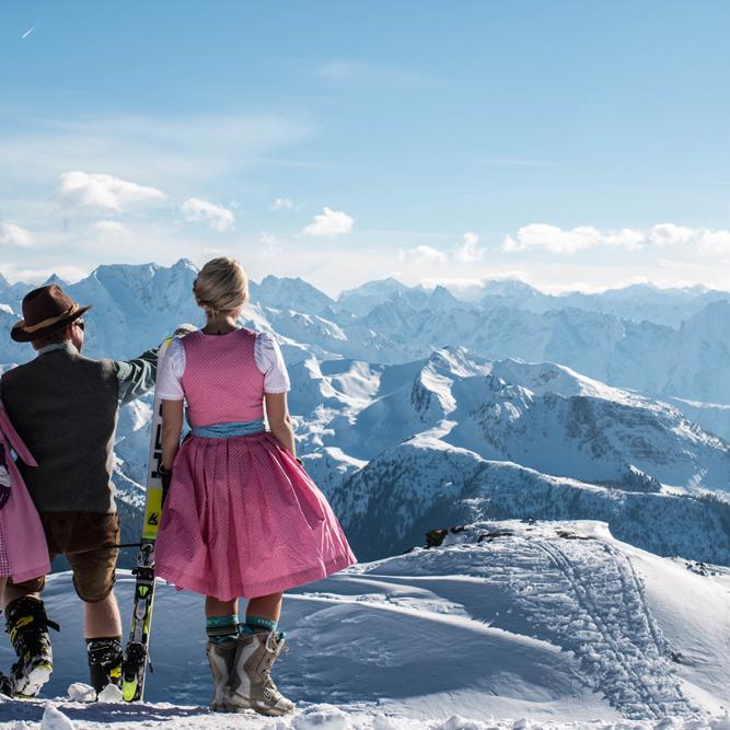 Neuschnee und Gratis-Skipass im Zillertal (WE vom 22-23.4)
