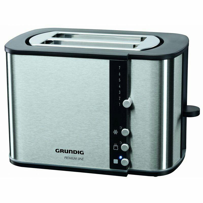 Grundig TA 5260 Edelstahl Toaster für 22,99€ @bluespoon PVG ab 30€