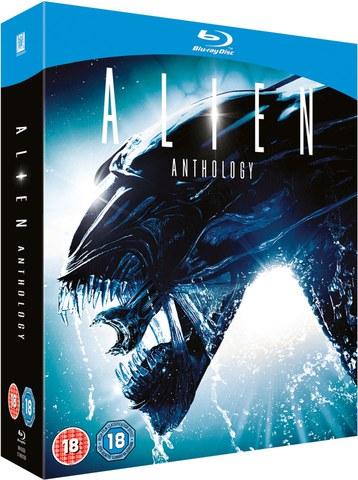 Alien Anthology: Alien 1-4 (Bluray) für 13,19€ [dt. Tonspur] [Zavvi]
