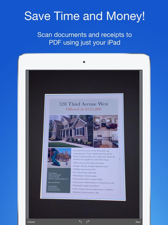 [iOS] Smart PDF Scanner - gratis statt 4,99 €
