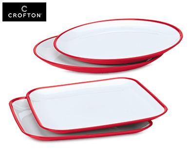 Aldi Süd: CROFTON®  Kunststoff-Teller (2 St)