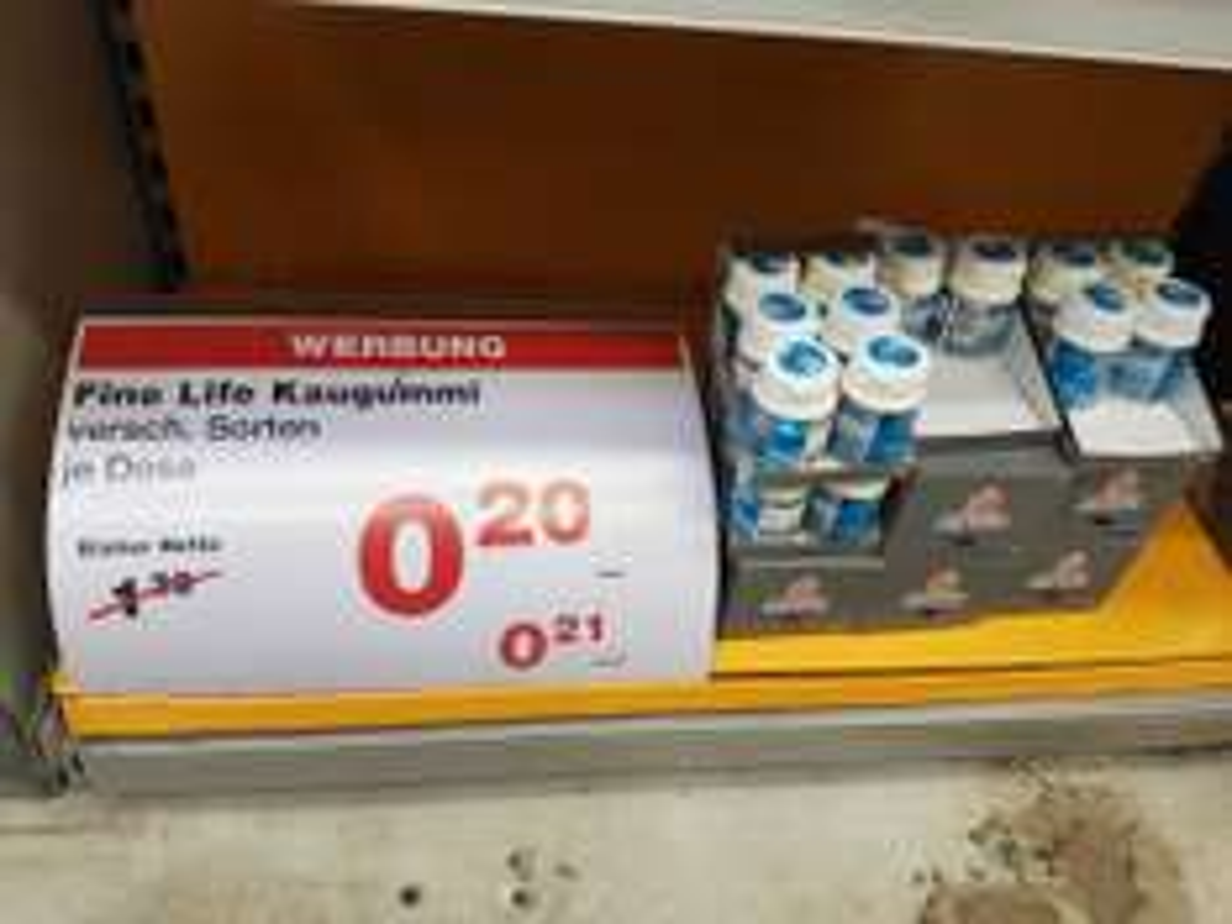 Lokal Augsburg Noname Kaugummi Dosen bei Metro für 0,21€/St.