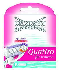 Kaufland Ahlen Wilkinson Quattro Rasierklingen 3er Pack Damen