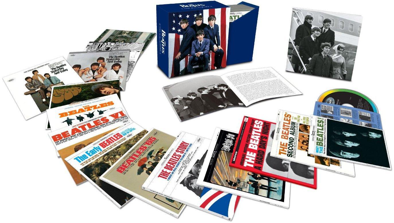 The Beatles Sammler-Box-Set, bestehend aus den 13 Original-US-Alben bis 1970